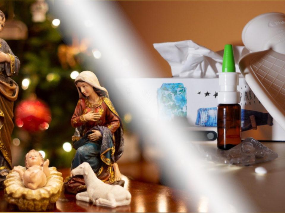 Weihnachtsgrippe/Weihnachtskrippe